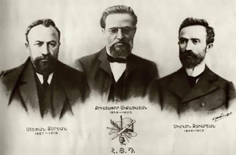 "The founders of the Armenian Revolutionary Federation or ""tashnag"" Party"