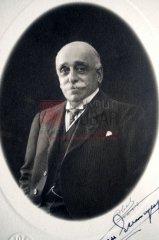 Boghos Nubar Pacha (1851-1930), fils de l'ancien premier ministre d'Égypte Nubar Pacha, président de la Délégation nationale arménienne (coll.Bibliothèque Nubar).