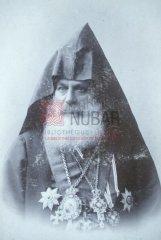 KévorkV Tiflisétsi (1847-1930), catholicos d'Etchmiadzine, l'un des initiateurs du projet de réforme dans les provinces arméniennes ottomanes (coll.Bibliothèque Nubar).