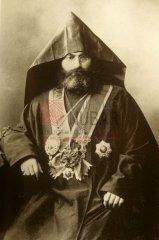 Zaven Yéghiayan (1868-1947), patriarche des Arméniens de Constantinople de 1913 à 1922 (coll.Bibliothèque Nubar).