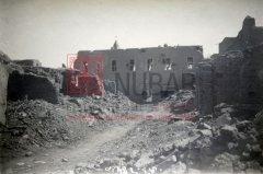 Van, 1916, ruines de l'église Sourp Nechan et des habitations alentours (coll.Bibliothèque Nubar).