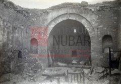 Khorkom (sud du lac de Van), état de l'église au retour des villageois arméniens (coll.Bibliothèque Nubar).