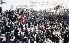Alep, 24 avril 1919: première journée de commémoration à la mémoire des victimes du génocide (coll. Bibliothèque Nubar).